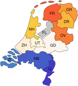 Identifying genetic substructures within the Dutch population